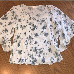 💐 LC Lauren Conrad gorgeous floral top
